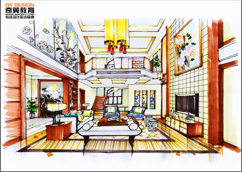 芜湖室内设计手绘培训