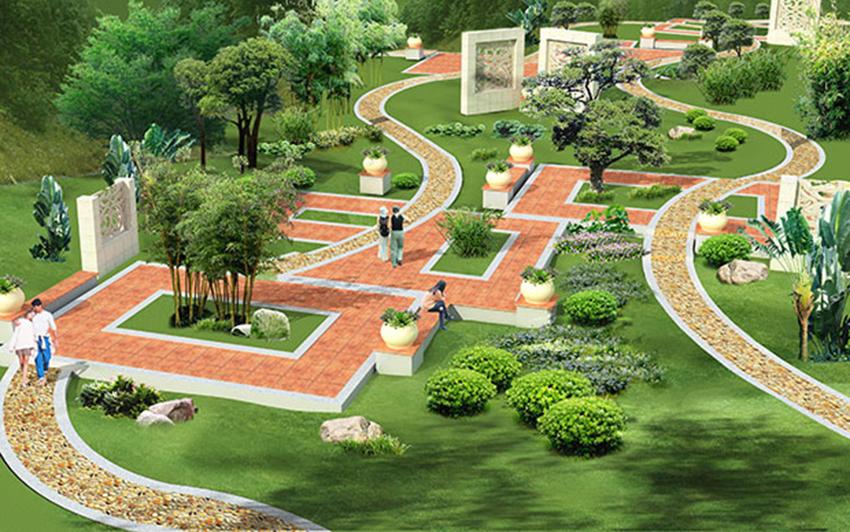 公园景观方案一